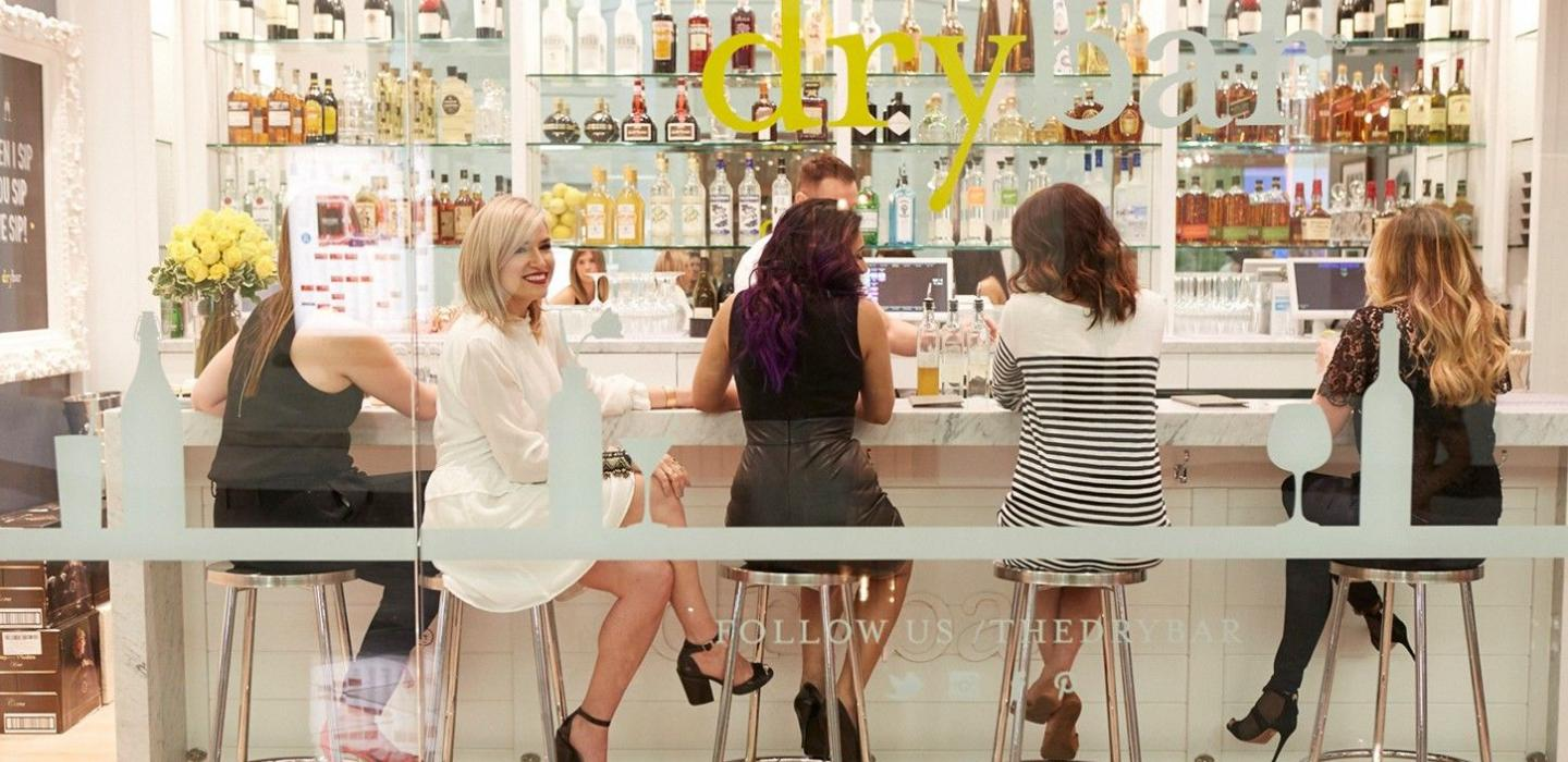 A Drybar location in Las Vegas