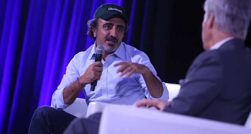 Hamdi Ulukaya  Founder, Chairman & CEO  Chobani speaks at NRF 2018