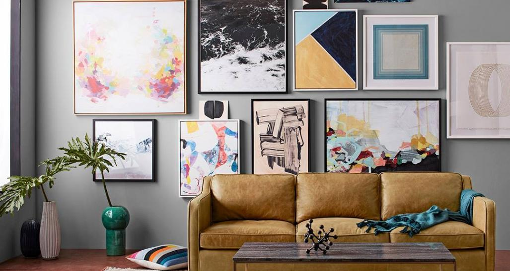 a stylish living room designed by west elm