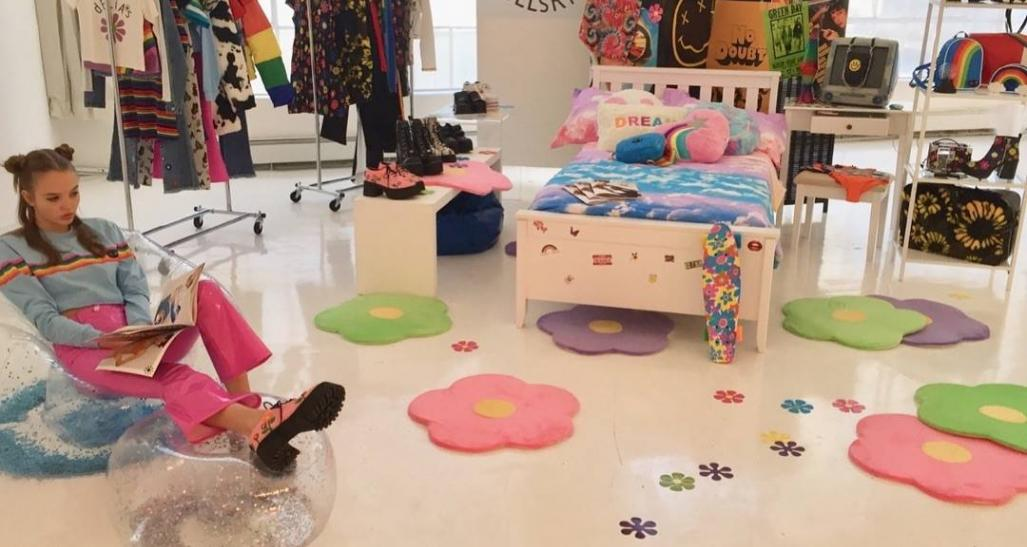 Delias by Dolls Kill pop up store