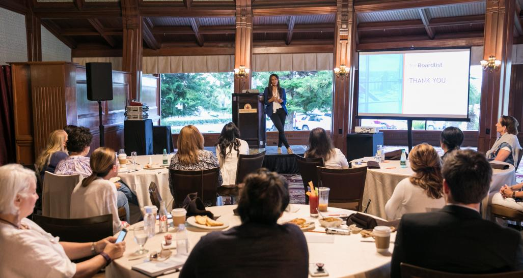 Women in IT luncheon at NRF Tech in 2017