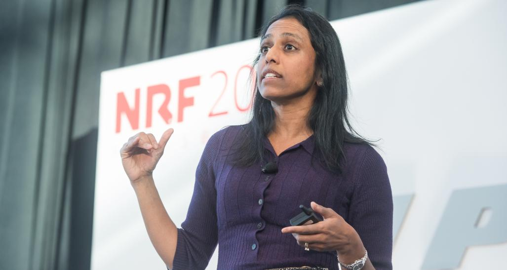 Sucharita Kodali on Innovation Stage at NRF 2019: Retail's Big Show