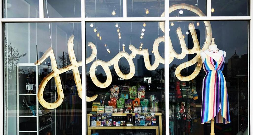 Store front window