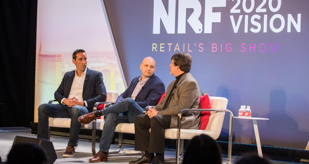 Rich Agostino, Adam Mishler and Dave Estlick speak at NRF 2020