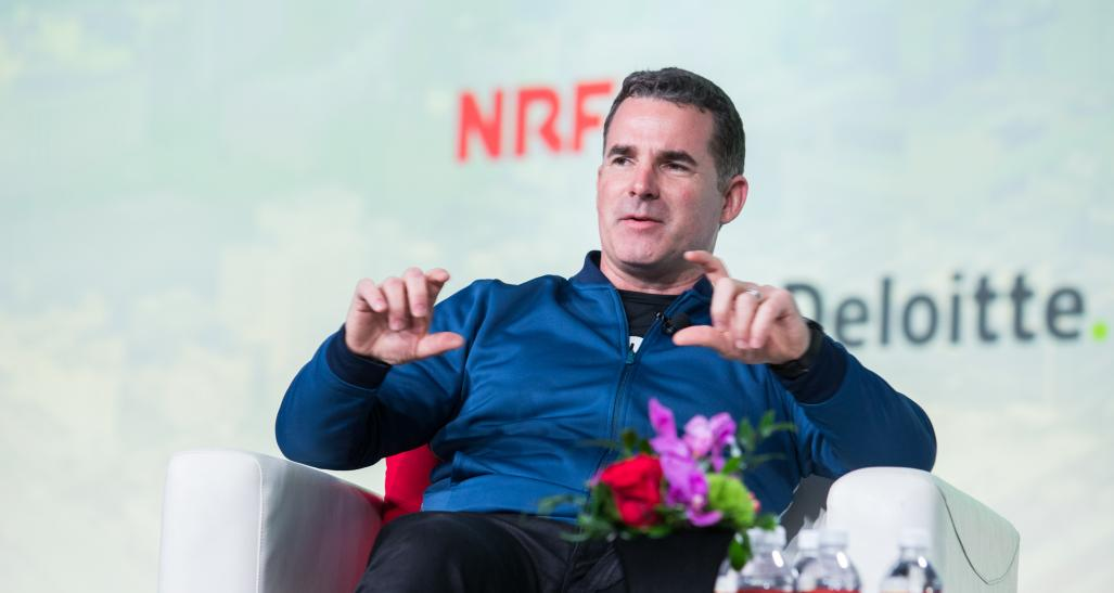 Under Armour's Kevin Plank speaks at NRF 2020