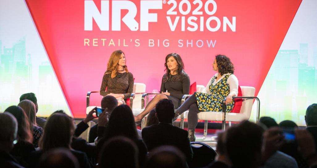 A panel at NRF 2020: Retail's Big Show