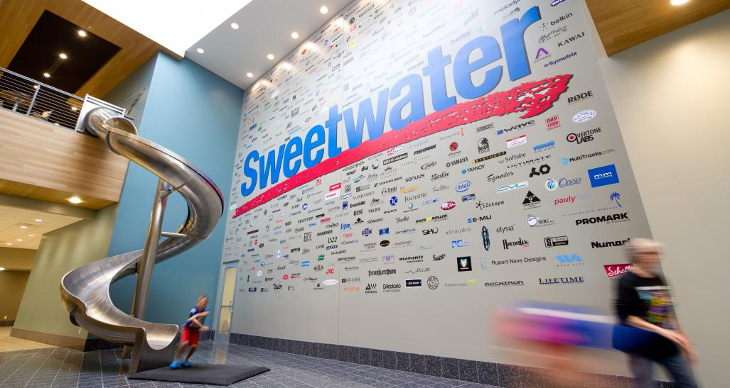 Inside Sweetwater offices