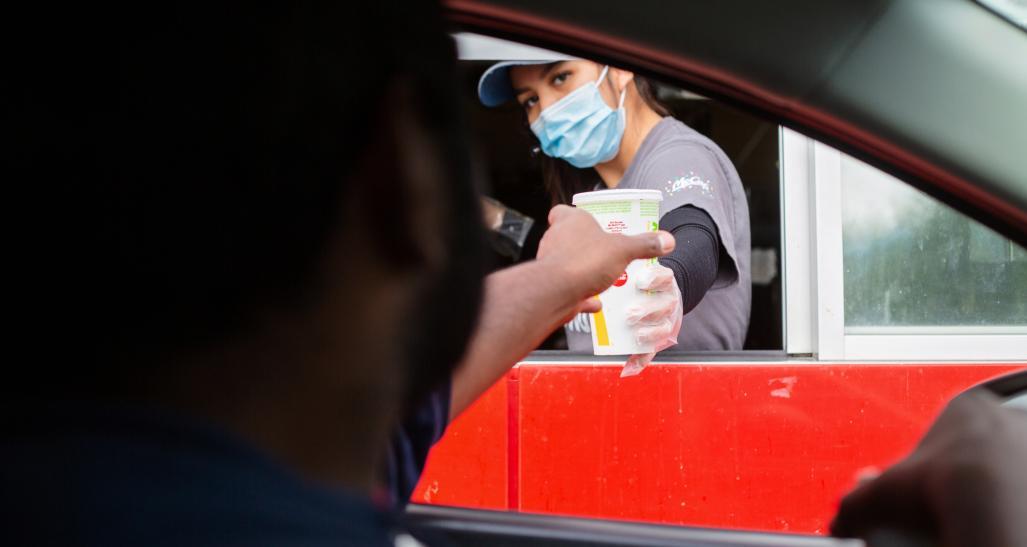 drive through during pandemic