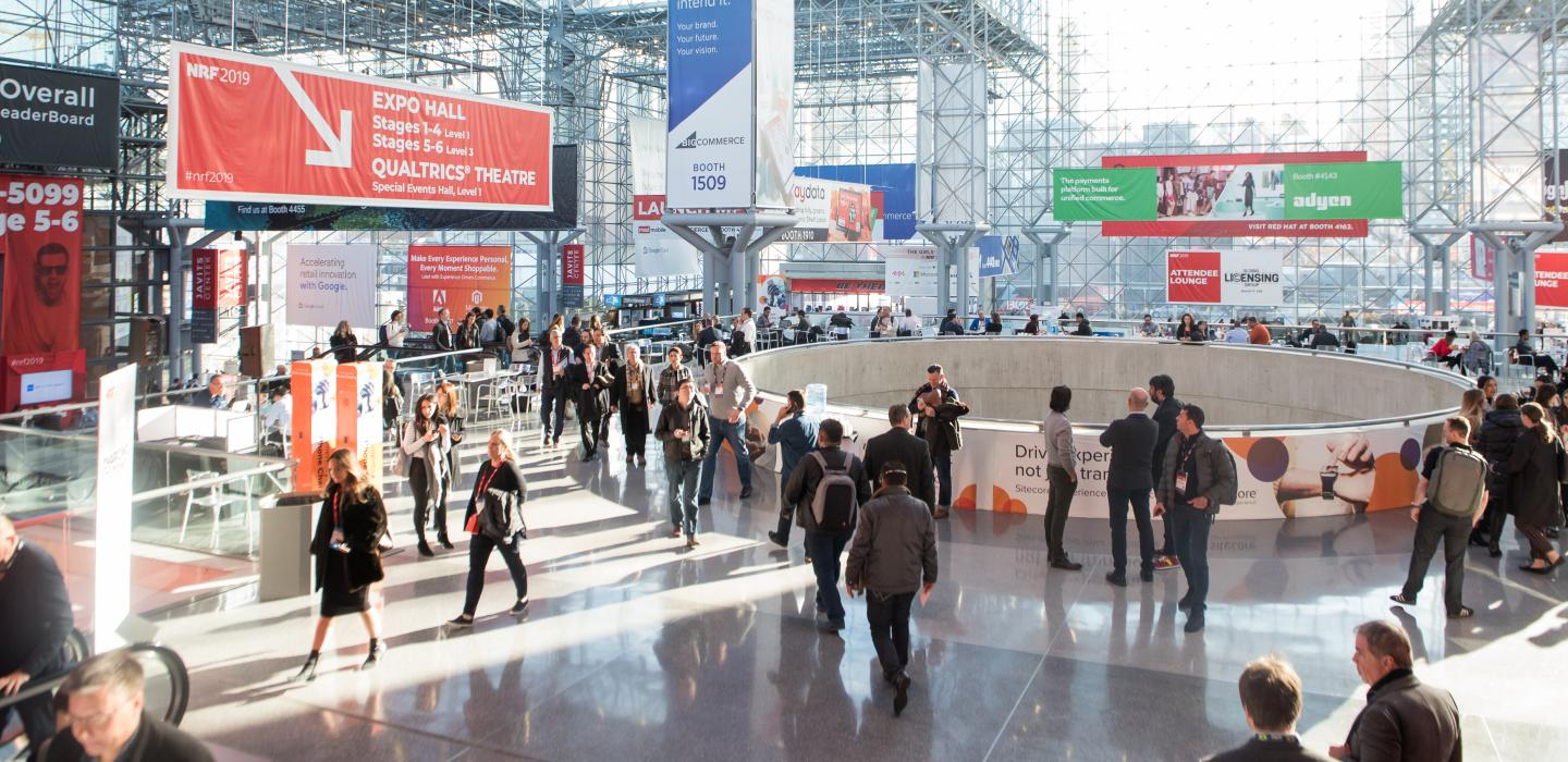 NRF 2019 crowd shot Javits