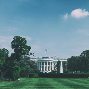 a picture taken of the white house