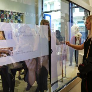 rebecca minkoff store visit for student program