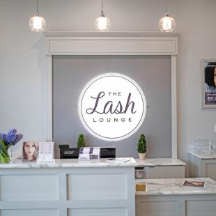 The Lash Lounge interior