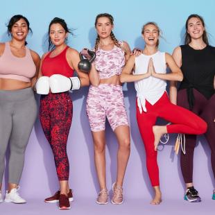 Women wearing Fabletics apparel