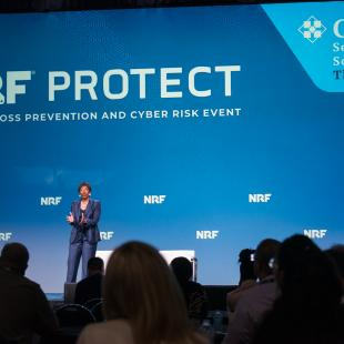 Carla Harris speaks at NRF PROTECT 2019