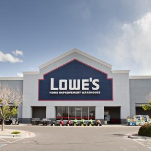 Lowe's Home Improvement hard goods hot 100 retailers