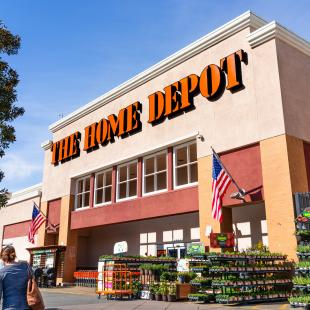 The Home Depot warehouse and supply chain