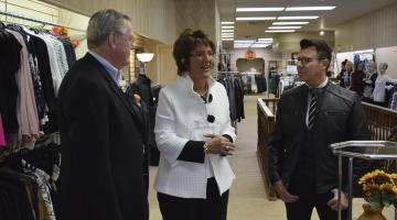 Representative Jackie Walorski  at Stephenson's