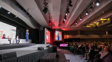 Tina Sharkey, CEO and Co-Founder, Brandless speaks at NRF 2019