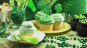 St. Patricks Day cupcakes
