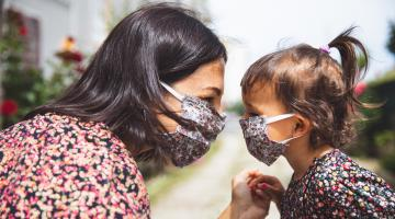 Retailers promoting masks for safety and style