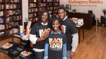 Ramunda, Derrick and Mahagony Young of MahoganyBooks