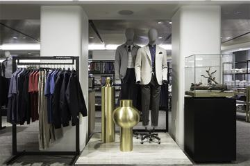 Nordstrom Men's store NYC interior