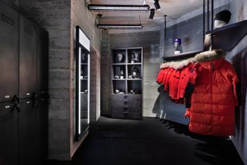 Canada Goose products in The Journey