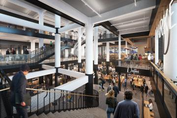 The Dayton's Project food hall entrance