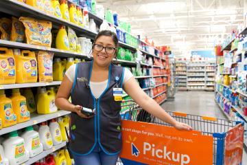 Walmart Store employee