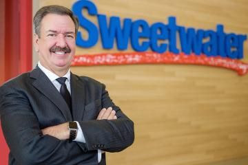 Founder and CEO Chuck Surack, Sweetwater