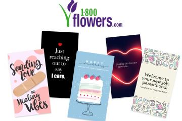 ecards from 1-800-Flowers