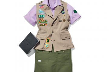 Girl Scouts uniforms