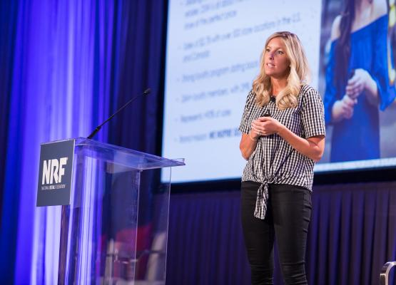 Julie Roy, DSW, speaks at NRF NXT