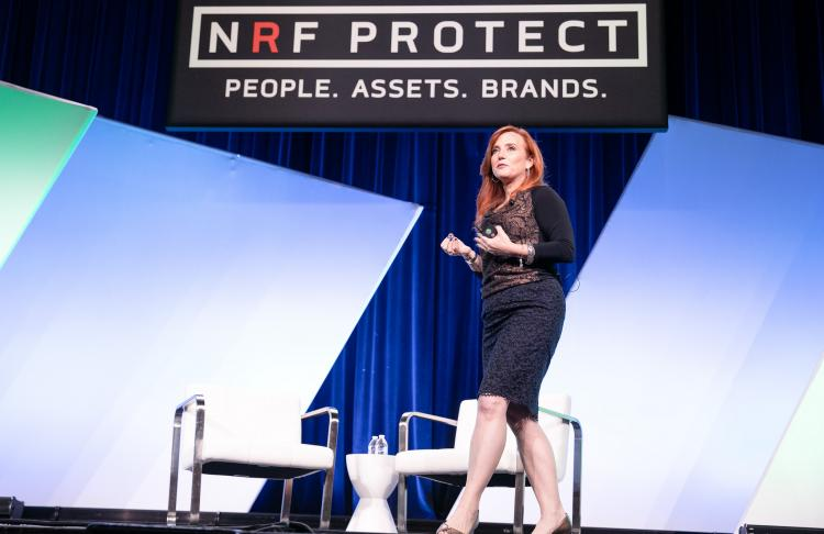Theresa Payton speaks at NRF Protect in Dallas
