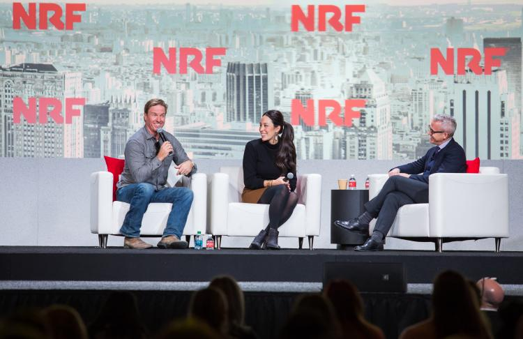 Chip and Joanna Gaines at NRF 2019
