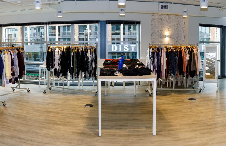 Addison Bay DC pop-up store