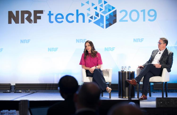 Brit Morin, CEO of Brit + Co, at NRFtech 2019