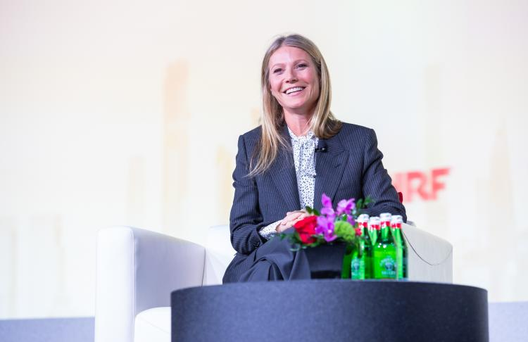 Gwyneth Paltrow on stage at NRF 2020