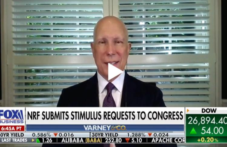 NRF President and CEO Matthew Shay on retailer stimulus requests to Congress