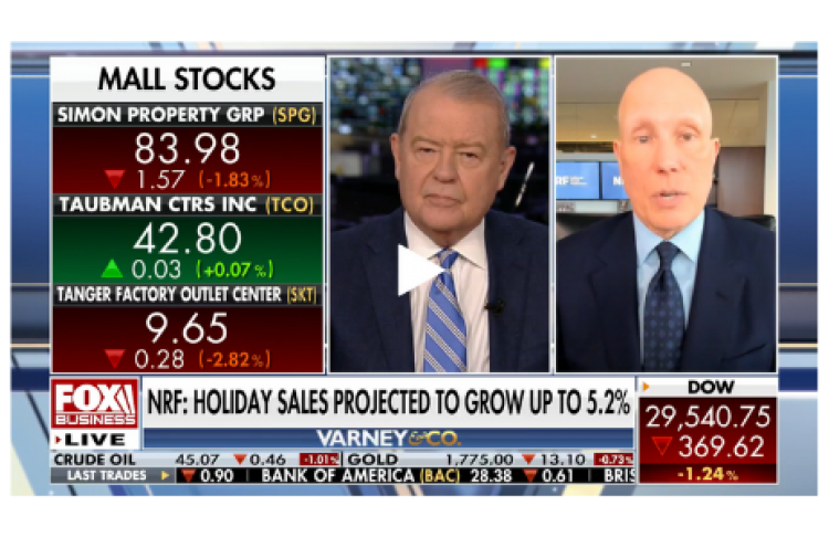 Matt Shay on Fox Business for Cyber Monday 2020
